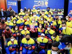 El Sumario - Venezuela condecora a los atletas paralímpicos a su regreso de Tokio
