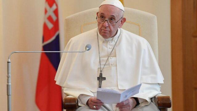 El Sumario - El papa Francisco pidió esfuerzos para una Europa libre de ideologías