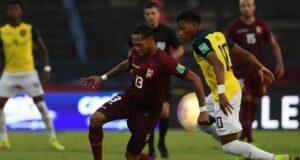 Venezuela derrotó 2-1 a Ecuador por las Eliminatorias Qatar 2022